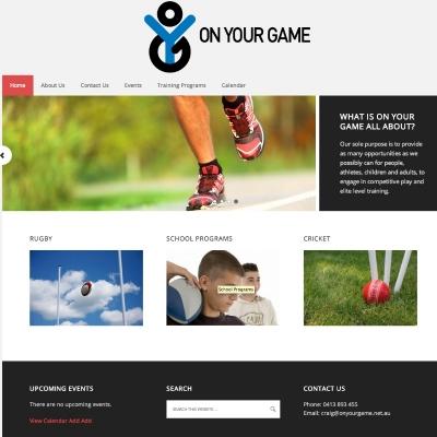 website-design-wordpress-on-your-game