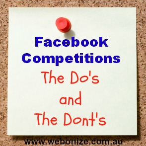 Facebook Competitions – What Are The Rules?