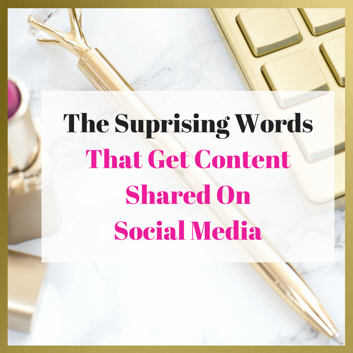 Use These Words On Social Media To Get Your Content Shared