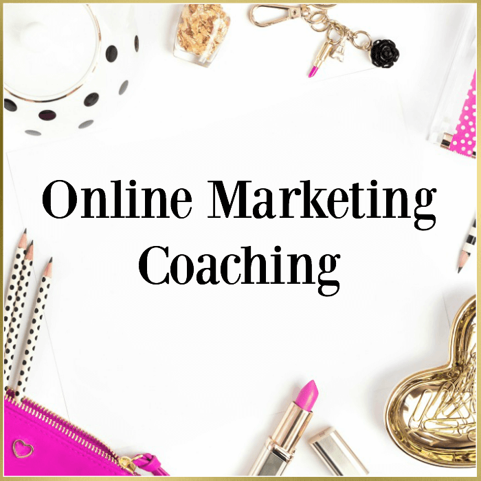 One on One Online Marketing Coaching + Done For You Services